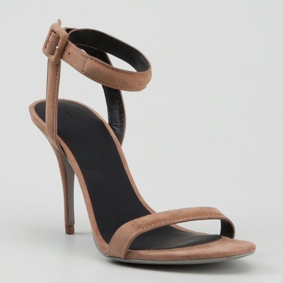 Alexander Wang Woman Lou Metallic Leather Sandals Rose Gold Size 36 Alexander Wang jakwP